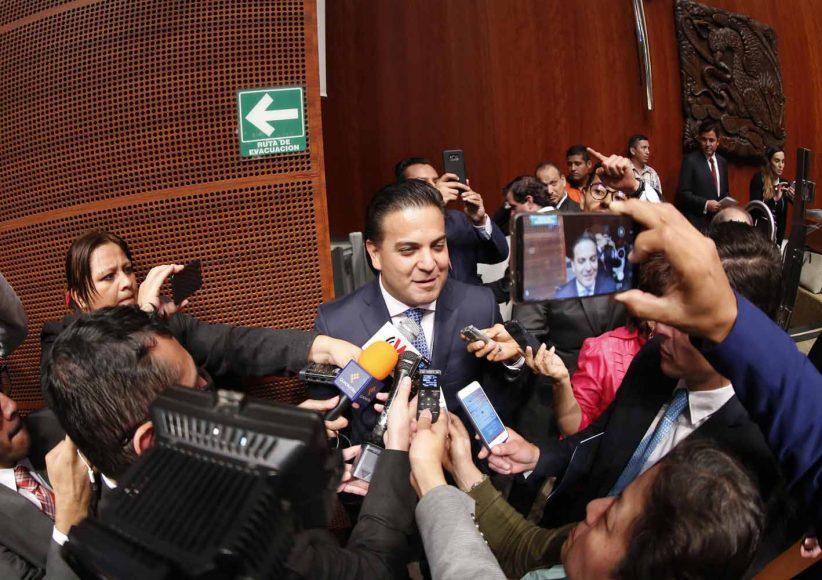 Senador electo, Damián Zepeda Vidales, Entrevista