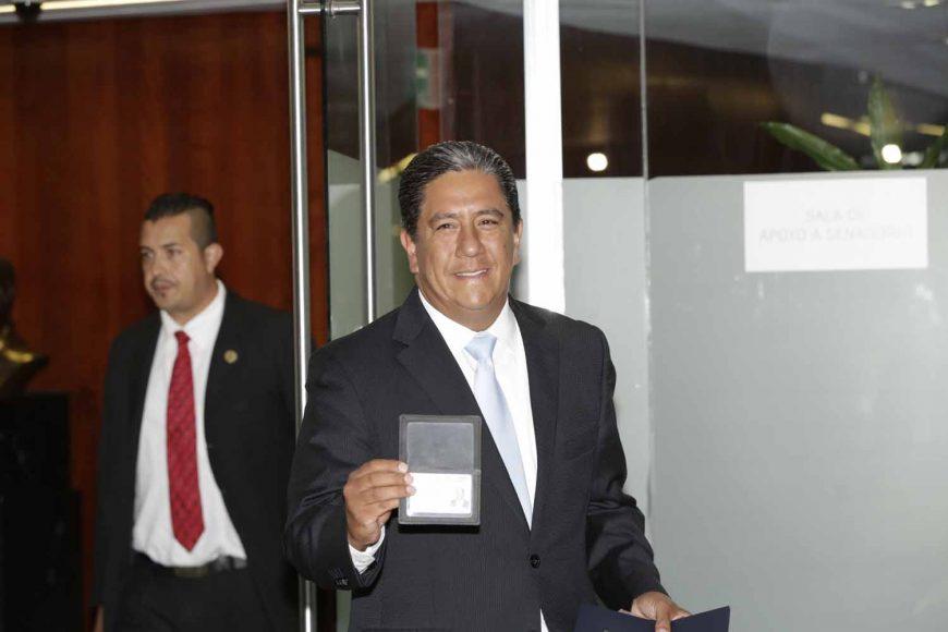 Senador Marco Antonio Gama Basarte, registro