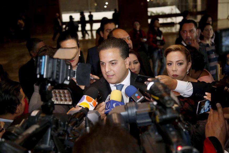 Entrevista, senador electo, Damián Zepeda Vidales, coordinador del Grupo Parlamentario del Partido Acción Nacional, sesión de Congreso General