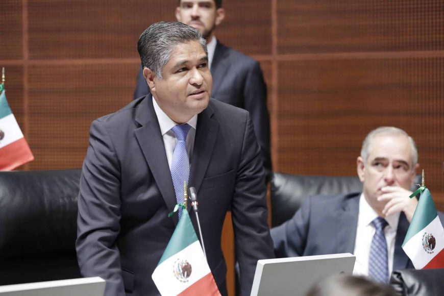 Senador Víctor Fuentes Solís, Nuevo León