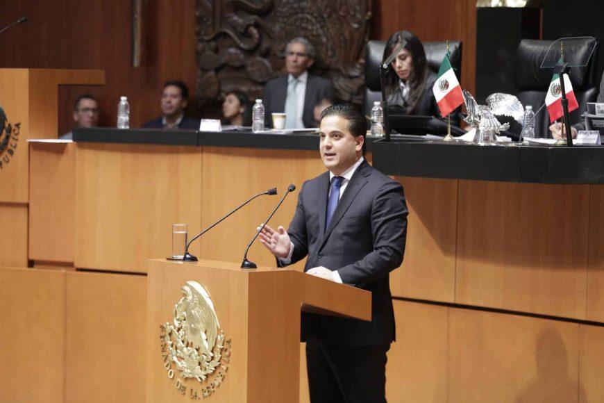 Senador Damián Zepeda Vidales, acuerdo, Jucopo, Licencia, Manuel Velasco Coello, Chiapas