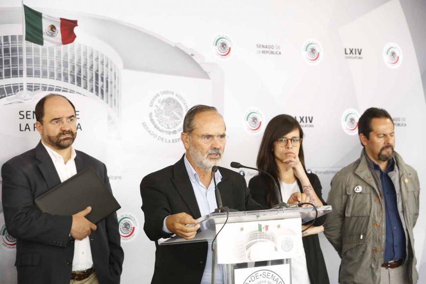 Senador Gustavo Madero Muñoz, conferencia