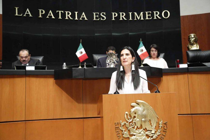 Senadora Kenia López Rabadán, violencia política en razón de género contra mujeres, Chiapas