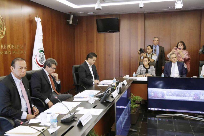 Josefina Vázquez Mota, Damián Zepeda Vidales, Junta de Coordinación Política, Jucopo, Senado de la República