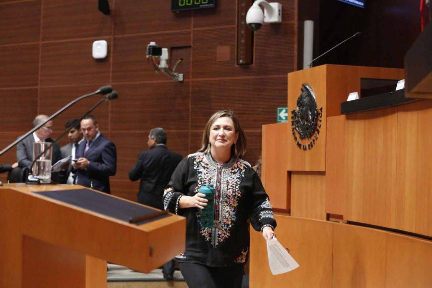 Xóchitl Gálvez Ruiz, Tribuna