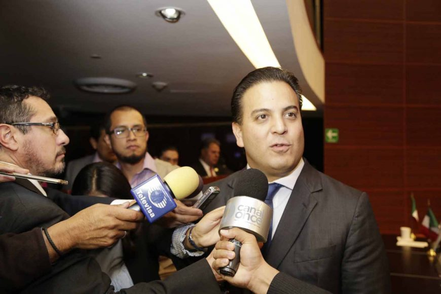 Damián Zepeda Vidales, Entrevista, coordinador de los senadores del PAN