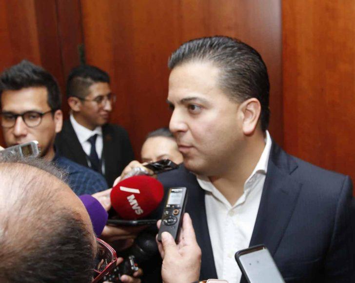 Damián Zepeda Vidales, en entrevista al coordinador de los senadores del PAN, reunión de la Junta de Coordinación Política