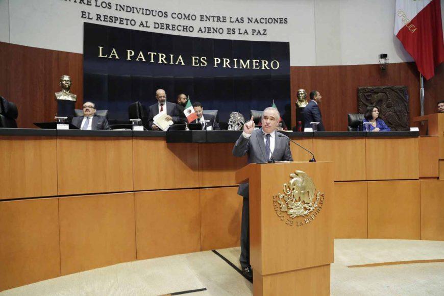 Senador Julen Rementería Del Puerto, posicionamiento del PAN durante la Glosa del VI Informe de Gobierno en materia de política económica