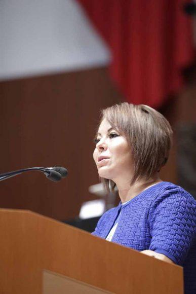 Minerva Hernández Ramos, Glosa del VI Informe de Gobierno, en materia de política económica