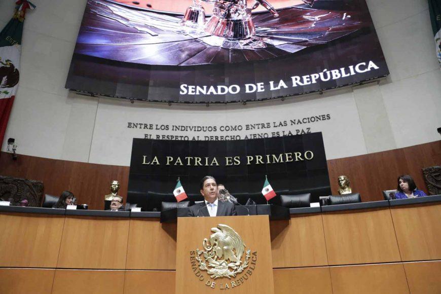 Senador Marco Antonio Gama Basarte, fracking