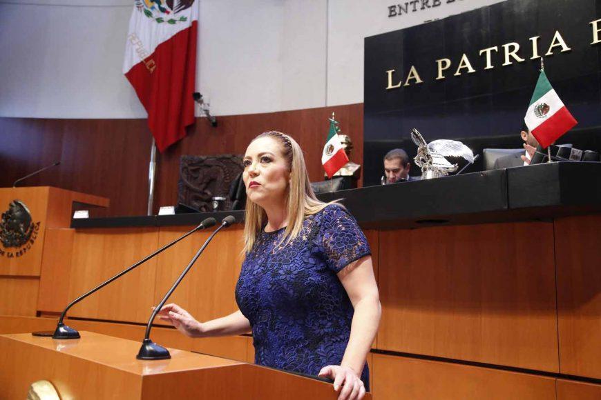 Senadora Alejandra Reynoso, para referirse al acuerdo que limita las participaciones de senadores