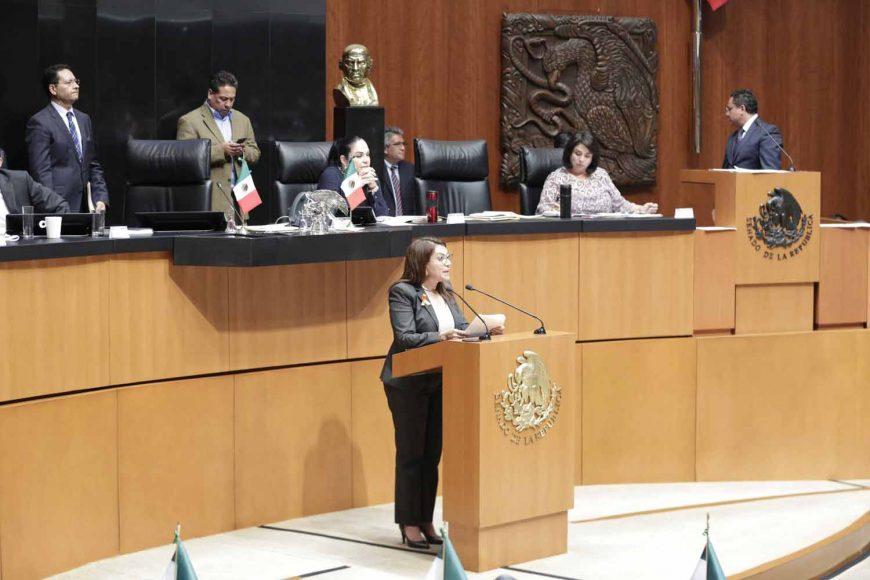 Senadora María Guadalupe Saldaña Cisneros
