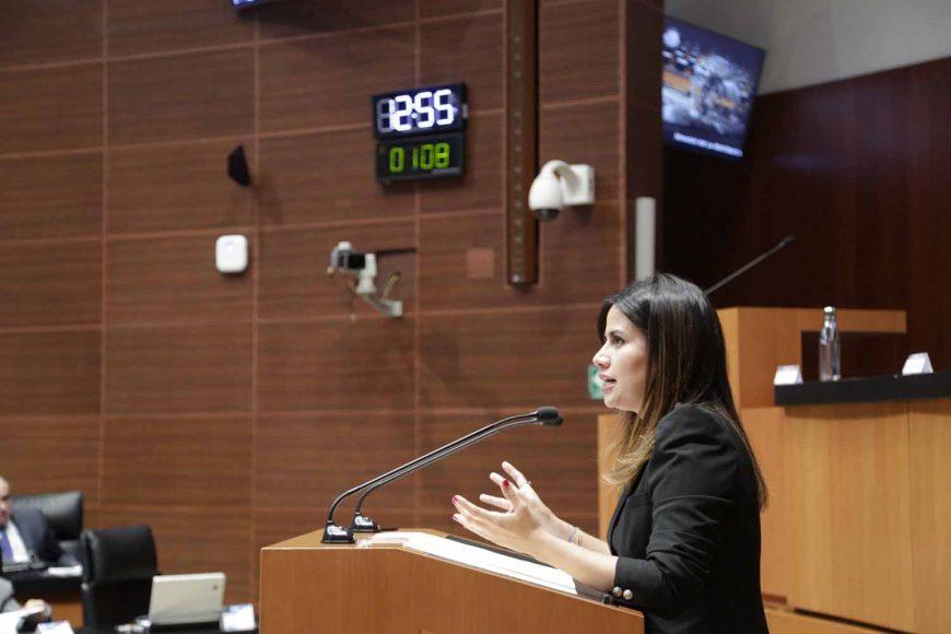 Senadora Indira de Jesús Rosales San Román presenta iniciativa para modificar diversas leyes en materia de presupuesto y disciplina financiera