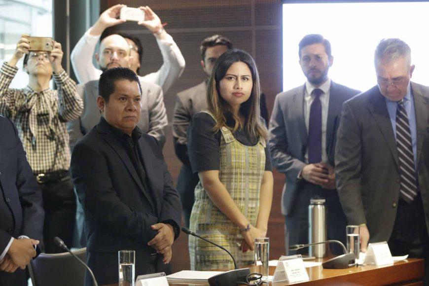 Comisión de Cultura, senador Raúl Paz Alonzo, Secretario, integrante Indira de Jesús Rosales San Román, Víctor Oswaldo Fuentes Solís