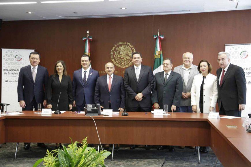 María Guadalupe Murguía Gutiérrez, Gina Andrea Cruz Blackledge, instalación de la Comisión de Estudios Legislativos de esta Cámara