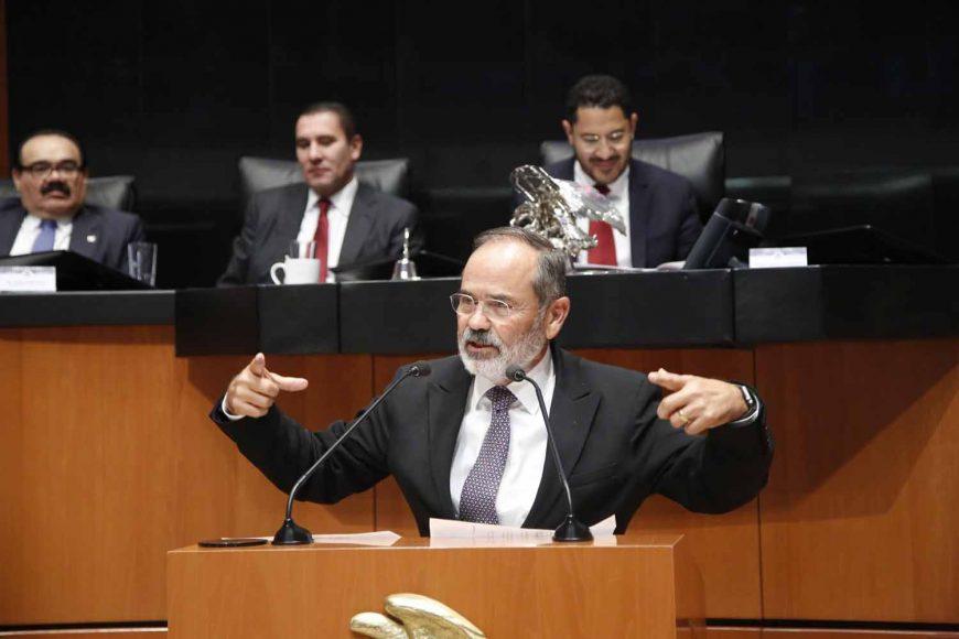 Gustavo Madero Muñoz al referirse a el Tratado de Libre Comercio