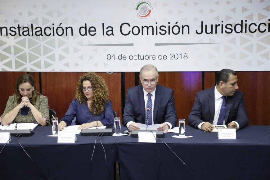 Julen Rementería Del Puerto, instalación de la Comisión Jurisdiccional, secretario,