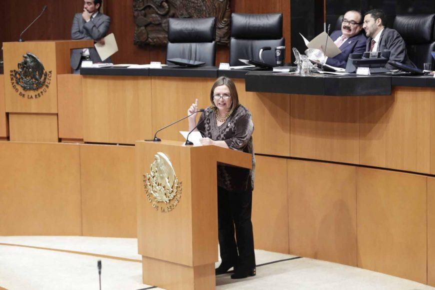 Senadora Xóchitl Gálvez Ruiz exhorta al gobierno del estado de Chiapas a aclarar las observaciones formuladas por la ASF