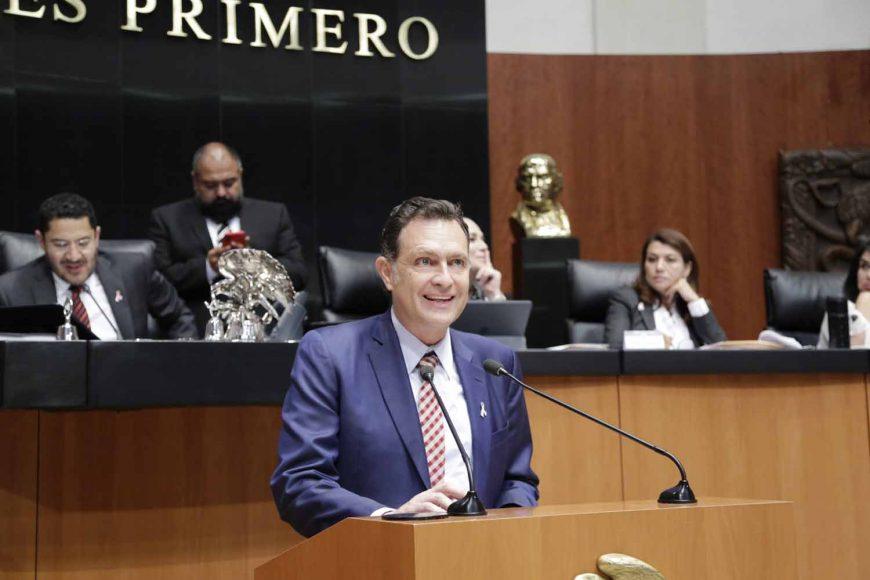Senador Mauricio Kuri González, exhorto al Congreso de Tabasco para combatir la corrupción