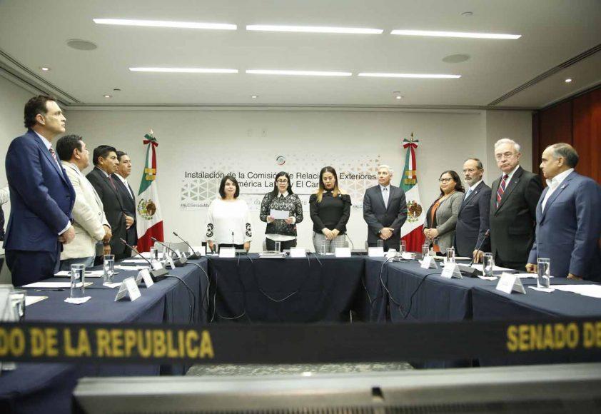Gustavo Madero Muñoz, Instalación Comisión de Relaciones Exteriores América Latina y el Caribe
