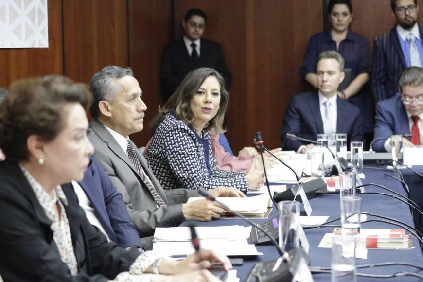 Gina Andrea Cruz Blackledge, Reunión de instalación de la Comisión de Federalismo y Desarrollo Municipal