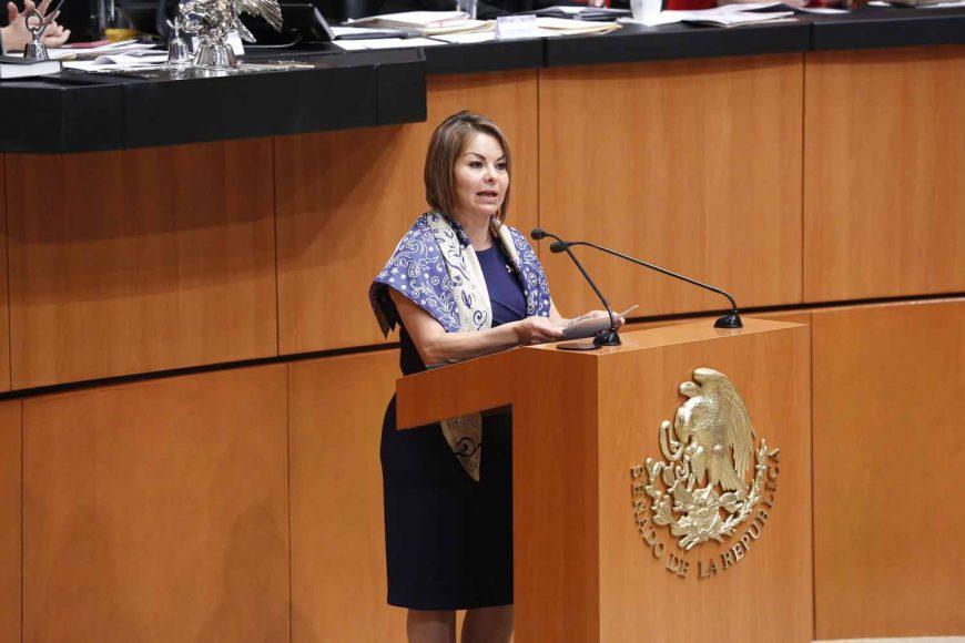 Senadora Minerva Hernández Ramos, celebración de una Convención Nacional Hacendaria
