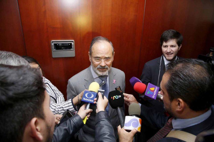 Senador Gustavo Madero Muñoz, en entrevista