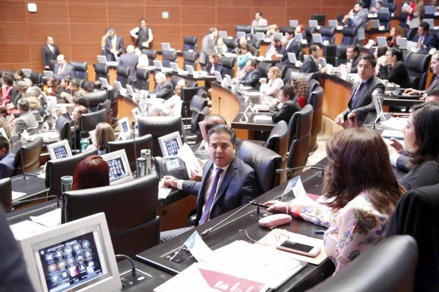 Senadores del PAN, Damián Zepeda Vidales, comparecencia, secretario de Gobernación Alfonso Navarrete Prida