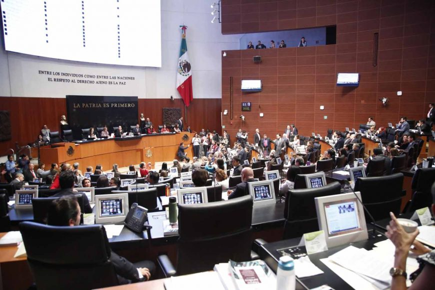 Senadores del PAN, Martha Cecilia Márquez Alvarado, Senadora Gina Andrea Cruz, Senador Gustavo Madero Muñoz, comparecencia, secretario de Gobernación Alfonso Navarrete Prida