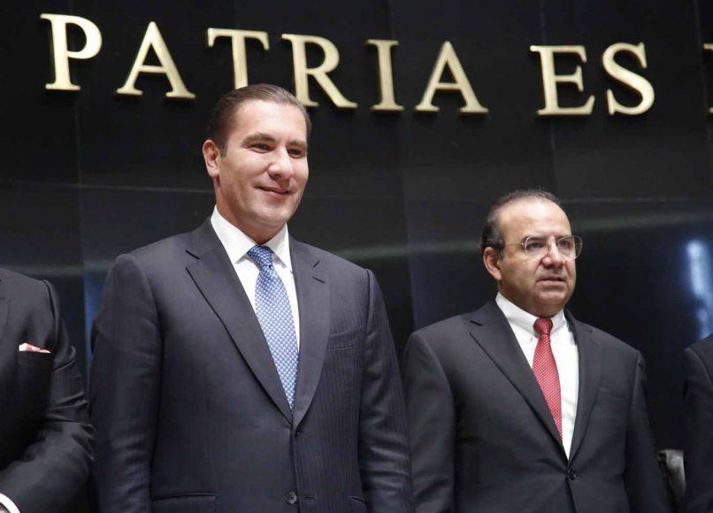 Senadores del PAN, Rafael Moreno Valle Rosas, comparecencia, secretario de Gobernación Alfonso Navarrete Prida