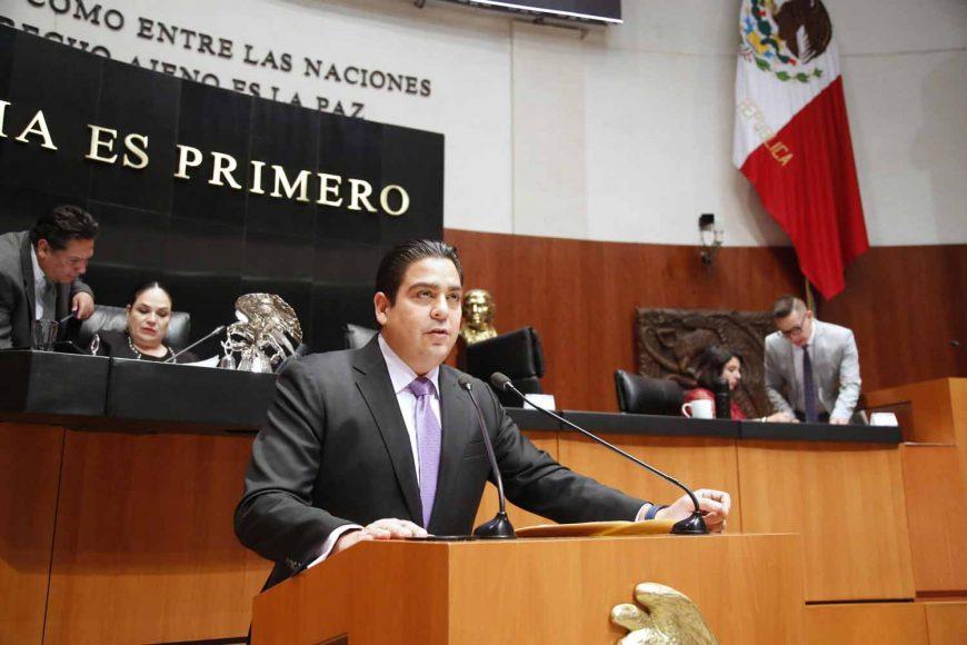 Senador Ismael García Cabeza de Vaca, extinción de dominio