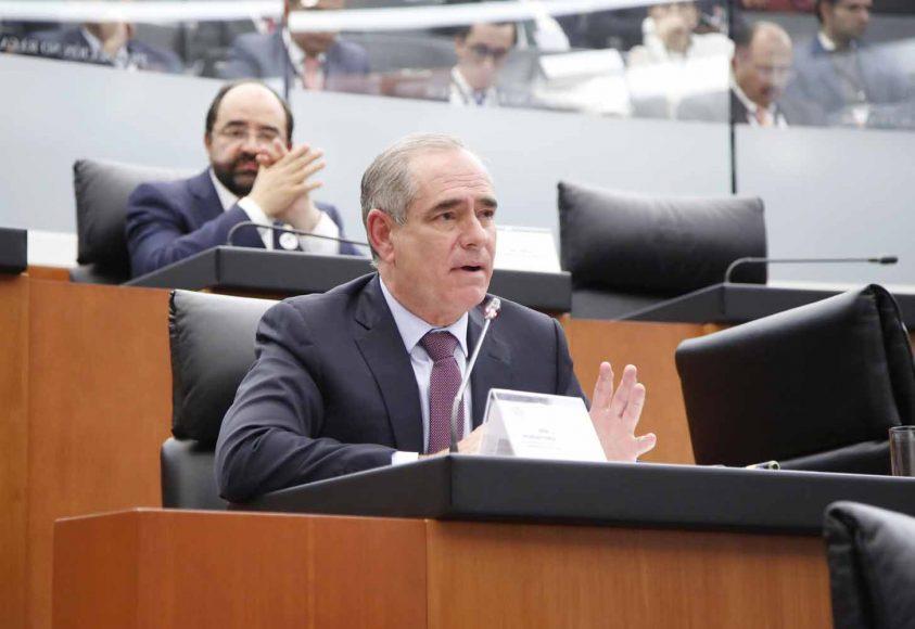 Intervención del senador Julen Rementería Del Puerto, en la comparecencia del titular de la SCT, Gerardo Ruiz Esparza, ante la Comisión de Comunicaciones y Transportes