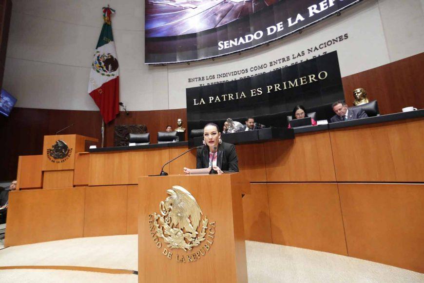 Senadora Martha Cecilia Márquez Alvarado, al presentar una iniciativa con proyecto de decreto por el la que se reforman y adicionan diversos artículos de la Ley del Impuesto sobre la Renta y se reforma el artículo 29 de la Ley de Ciencia y Tecnología