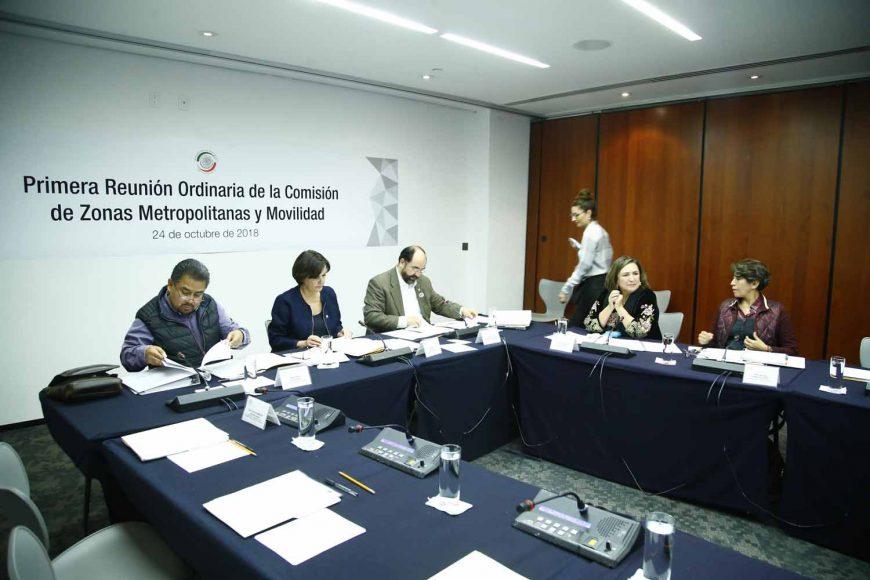 Primera reunión ordinaria de la Comisión de Zonas Metropolitanas y Movilidad.