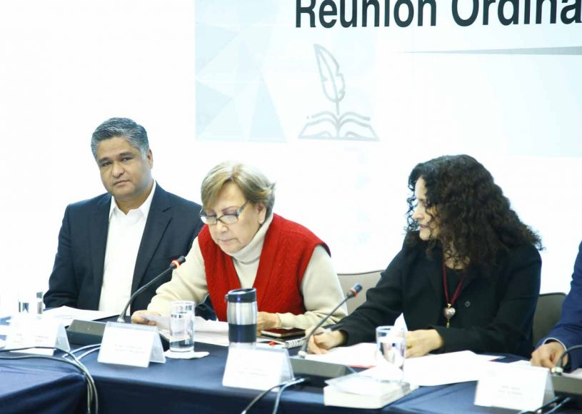 El senador Raúl Paz Alonzo presidió la reunión ordinaria de la Comisión de Cultura; participó el senador del PAN Víctor Oswaldo Fuentes Solís.