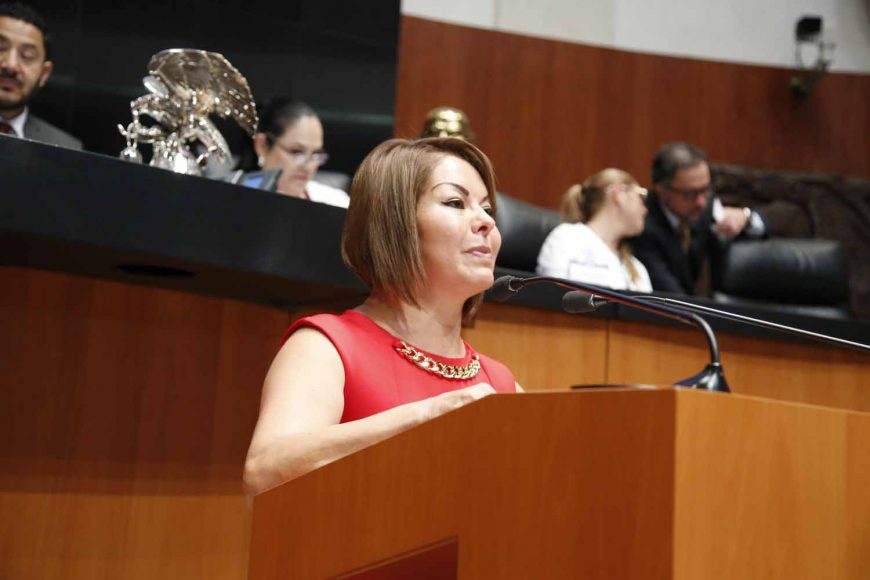Senadora Minerva Hernández Ramos