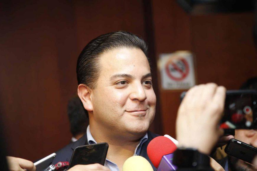 Entrevista concedida por el coordinador de los senadores del PAN, Damián Zepeda Vidales, al término de la reunión de la Junta de Coordinación Política