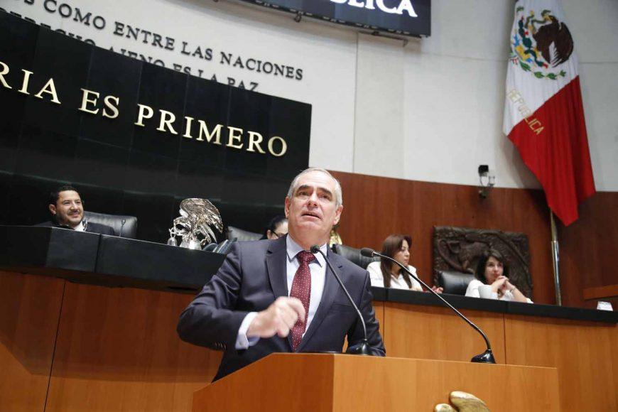 Senador Julen Rementería del Puerto, para referirse a la situación sobre la consulta del nuevo aeropuerto de la Ciudad de México