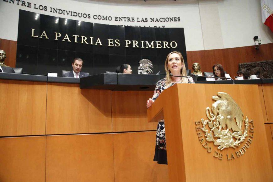 Senadora Alejandra Noemí Reynoso Sánchez, para referirse a la situación sobre la consulta del nuevo aeropuerto de la Ciudad de México