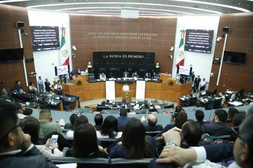 Comparecencia de la secretaria de Desarrollo Agrario, Territorial y Urbano, Rosario Robles Berlanga, ante las comisiones unidas de Desarrollo y Bienestar Social y de Desarrollo Urbano, Ordenamiento Territorial y Vivienda