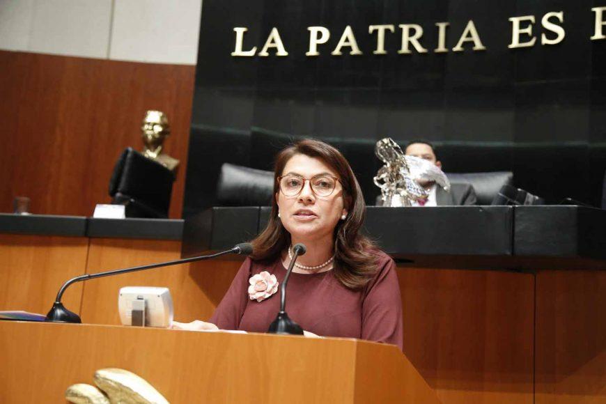 Intervención de la senadora María Guadalupe Saldaña Cisneros, al presentar un punto de acuerdo que exhorta a los titulares de las secretarías de Agricultura, Ganadería, Desarrollo Rural, Pesca y Alimentación y de Marina a fortalecer la inspección y vigilancia en materia pesquera en las zonas marinas mexicanas.