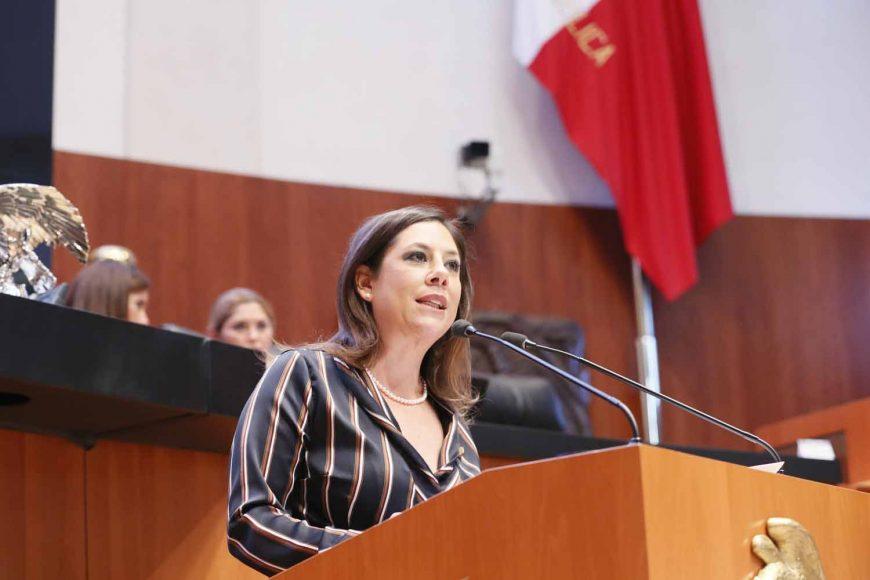 Senadora Gina Cruz, iniciativa para fortalecer marco institucional en materia de política exterior