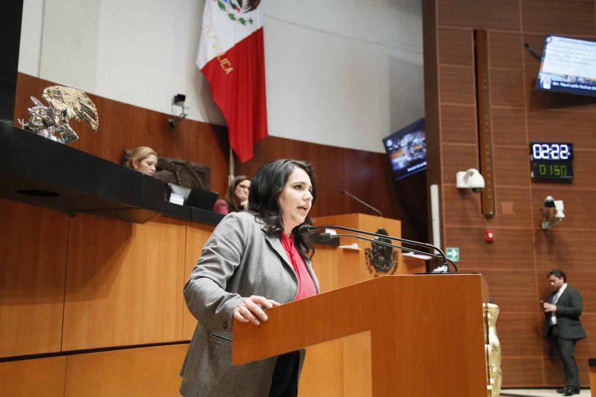 Senadora Mayuli Latifa Martínez participa en un dictamen de las Comisión de Medio Ambiente