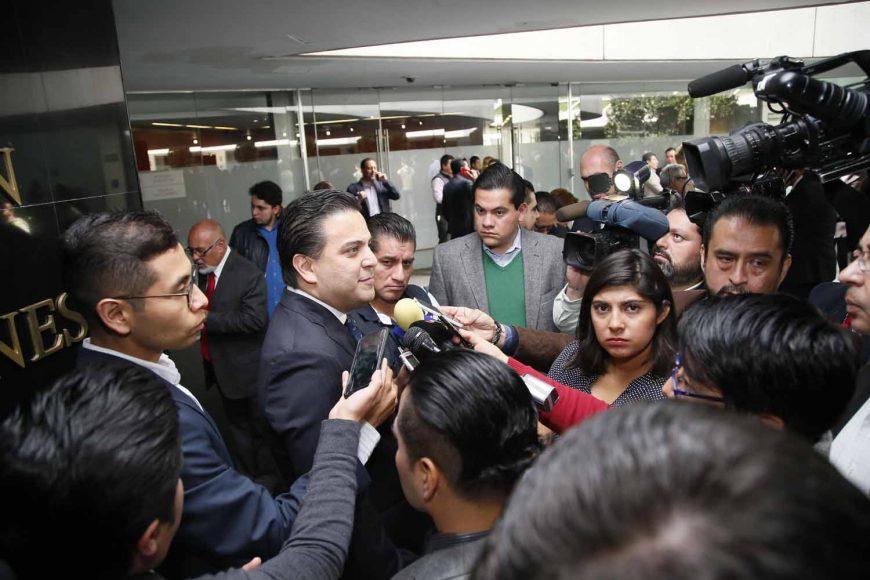 Entrevista al coordinador del Grupo Parlamentario del PAN, Damián Zepeda Vidales