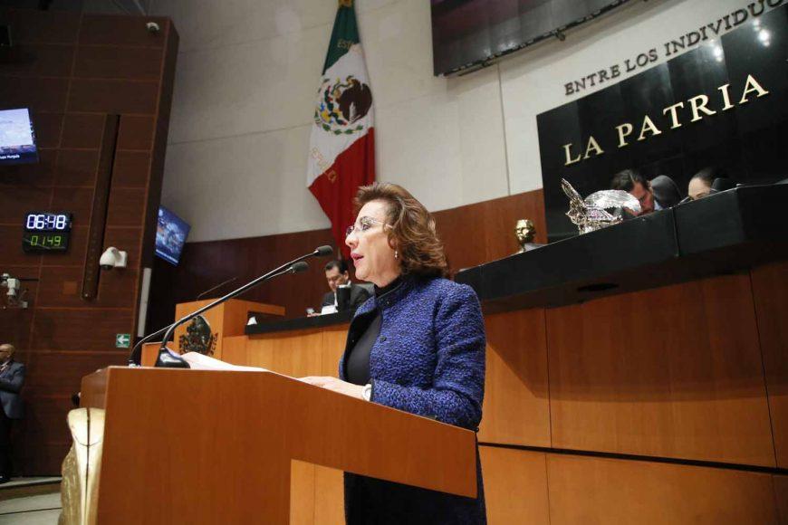 Intervención de la senadora María Guadalupe Murguía Gutiérrez, al presentar diversas reservas al dictamen por el que se crea la Ley Orgánica de la Fiscalía General de la República.