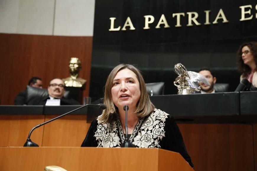 Intervención de la senadora Xóchitl Gálvez Ruiz, al participar en la discusión de reservas a los artículos 19 y 20 por el que se crea la Ley Orgánica de la Fiscalía General de la República.