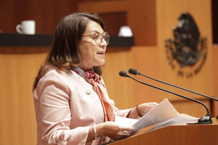 Propone senadora Guadalupe Saldaña establecer como derecho humano la movilidad libre y voluntaria