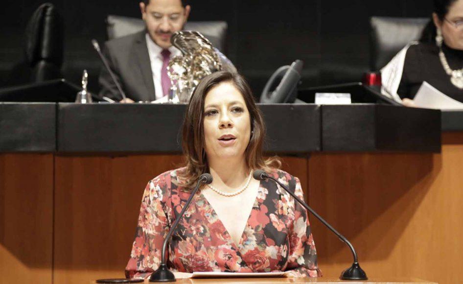 Senadora Gina Andrea Cruz Blackledge, al presentar iniciativa para modificar con el artículo 93 de la Ley del ISR