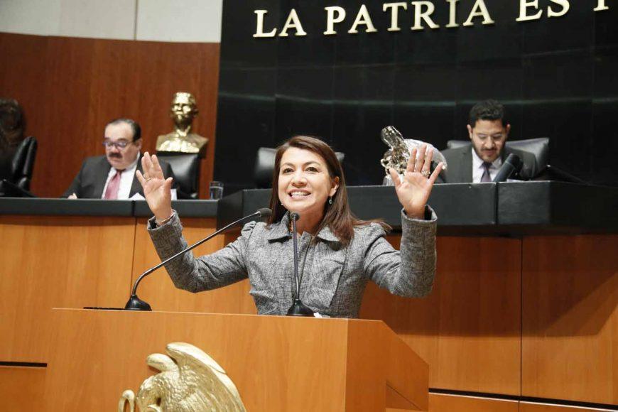 Intervención de la senadora María Guadalupe Saldaña Cisneros, al presentar diversas reservas a varios artículos del dictamen de las comisiones unidas de Gobernación y de Estudios Legislativos, por el que se reforma la Ley Orgánica de la Administración Pública Federal.