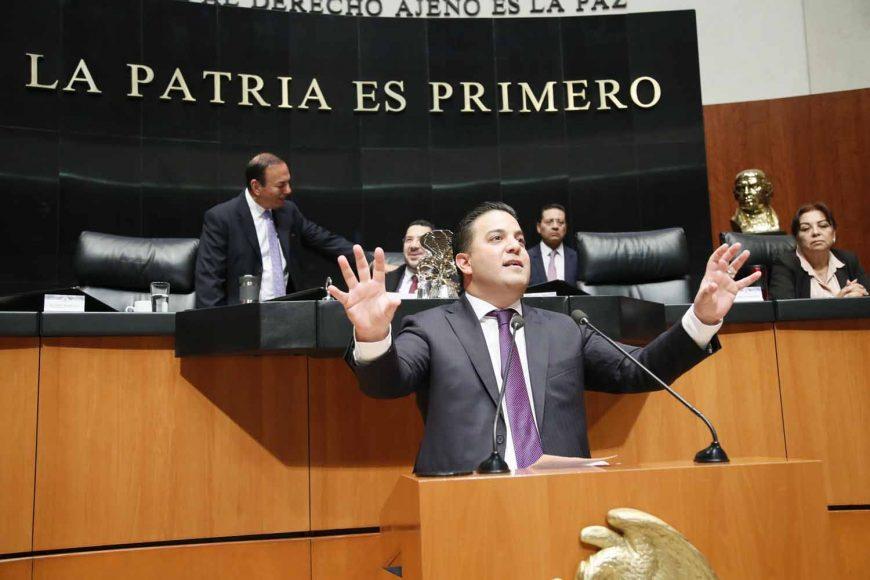Intervención del senador Damián Zepeda Vidales, al presentar una reserva al artículo 12 del proyecto de decreto por el que se expide la Ley del Instituto Nacional de los Pueblos Indígenas.